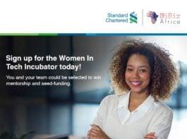 Kenyan Collective Stanchart iBizAfrica Women in Tech Incubation Program