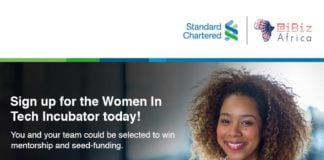 Kenyan Collective Stanchart iBizAfrica Women in Tech Incubation Program