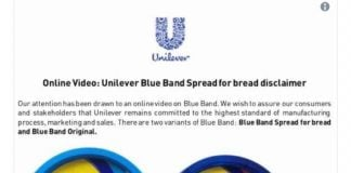 Kenyan-Collective-BlueBand-Spread-Safe-For-Consumption-Unilever-Assures
