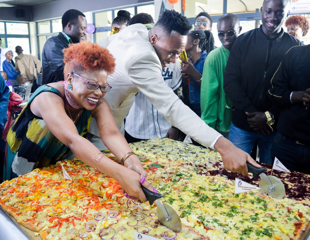 Nairobi Hotel Makes East Africa's Largest Pizza