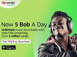 Songa by Safaricom Introduces Kshs 5 Bob Daily Plan