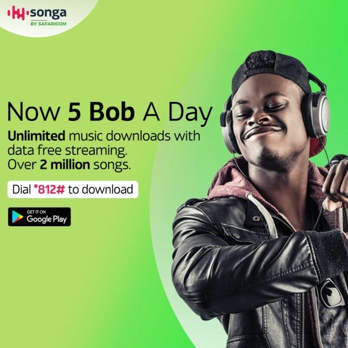Songa by Safaricom Introduces Kshs 5 Bob Daily Plan