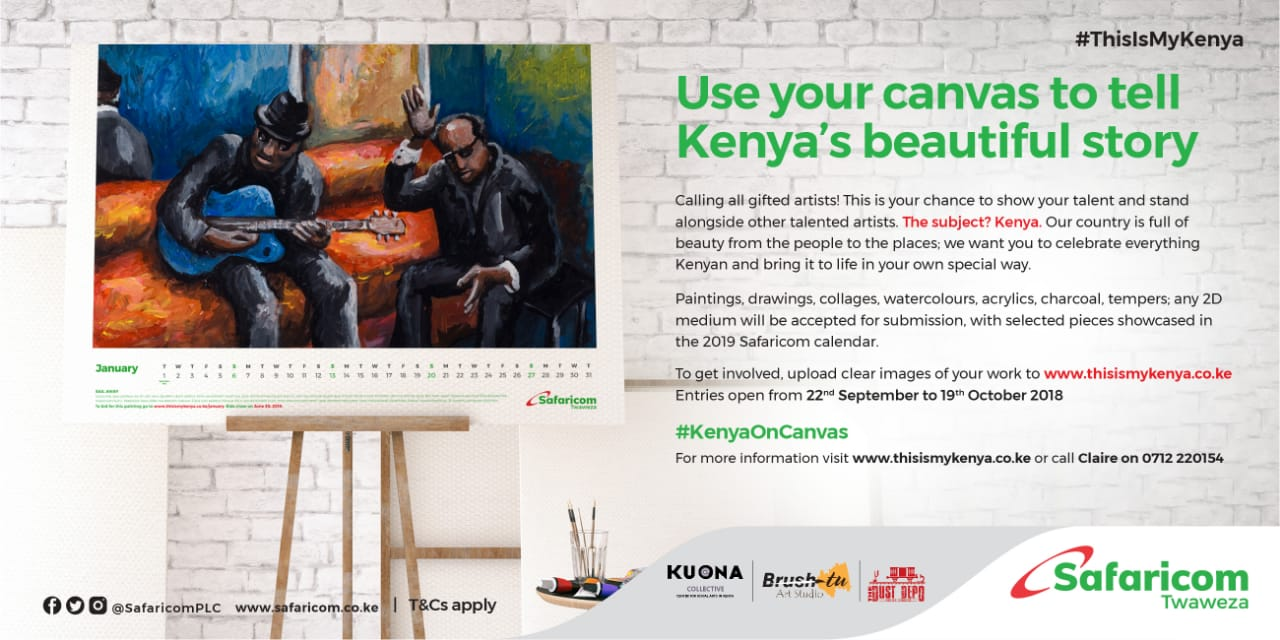 How To Get Featured On The Safaricom #ThisIsMyKenya 2019 Calendar
