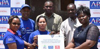 APA Apollo Foundation Improves Schools' Facilities in Kisumu #TheMoneySeries