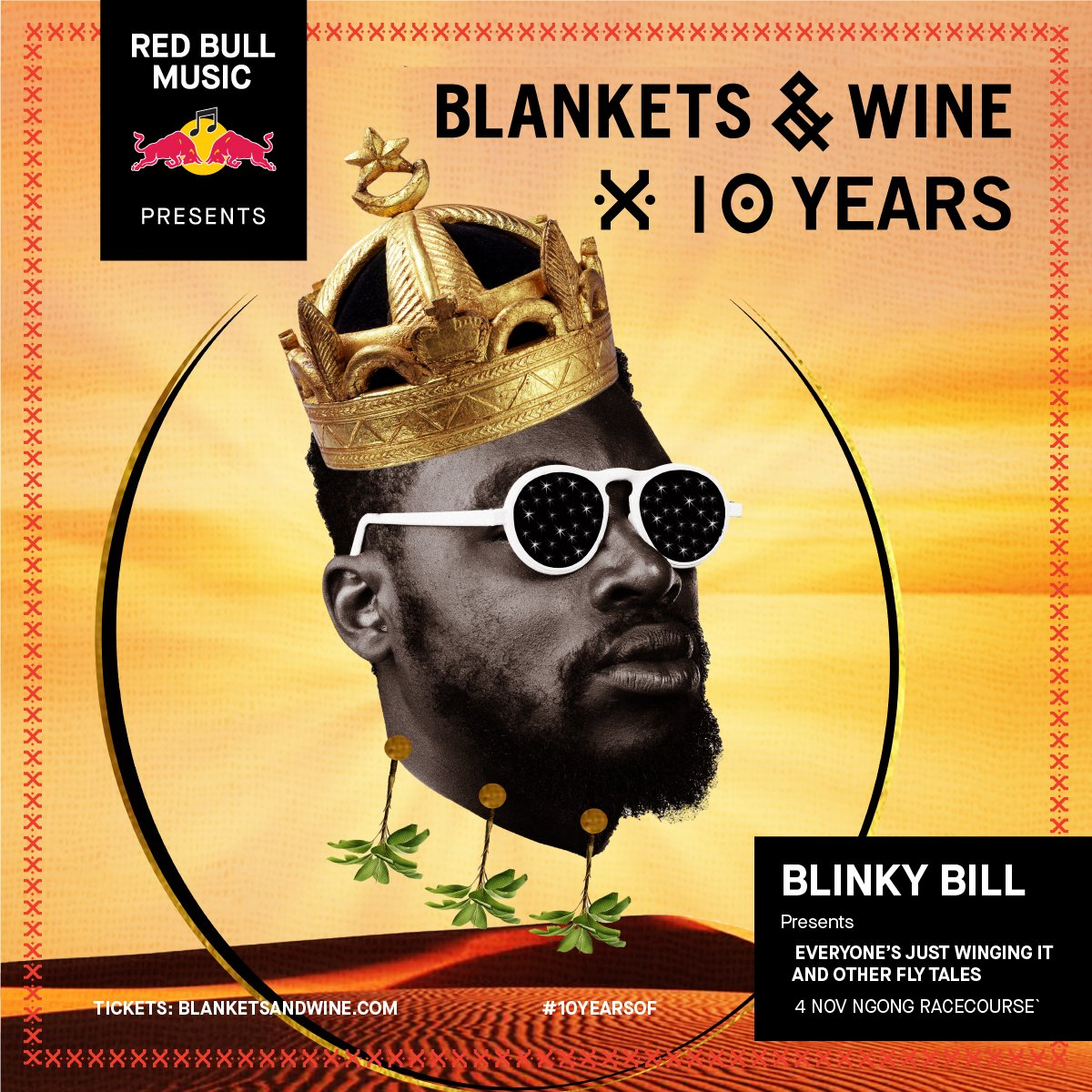 RedBull Music Presents: Blankets & Wine x 10 Years