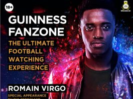 Romain Virgo To Grace Guinness Fanzone During His Visit To Nairobi