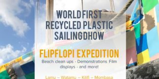 Giving Plastic A Second Life - The FlipFlopi Dhow