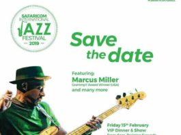 Grammy Award Winner Marcus Miller To Headline Safaricom International Jazz Festival This February
