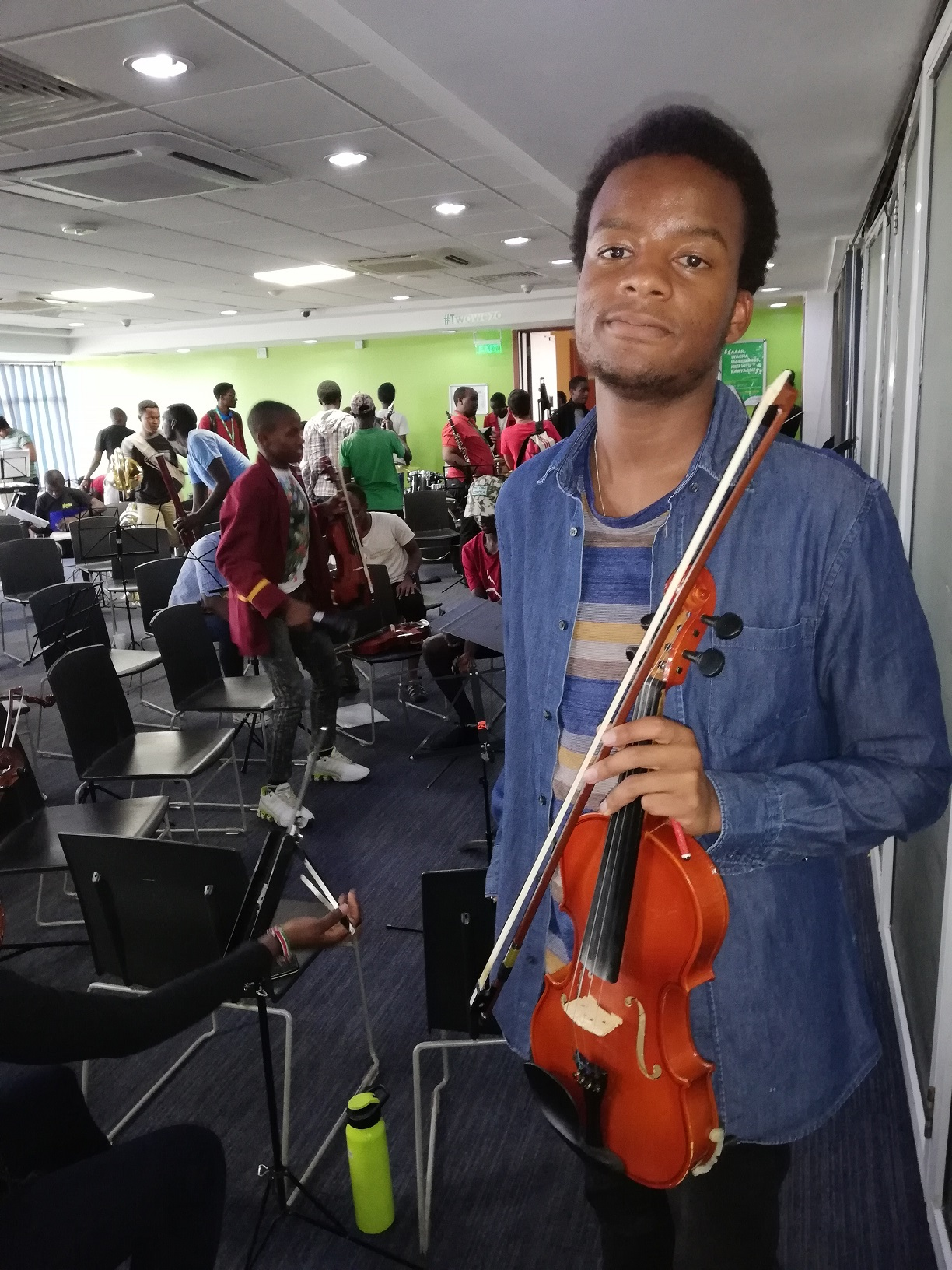 Life At The Safaricom Youth Orchestra In The Words Of Ethan Murenga #SafaricomJazz