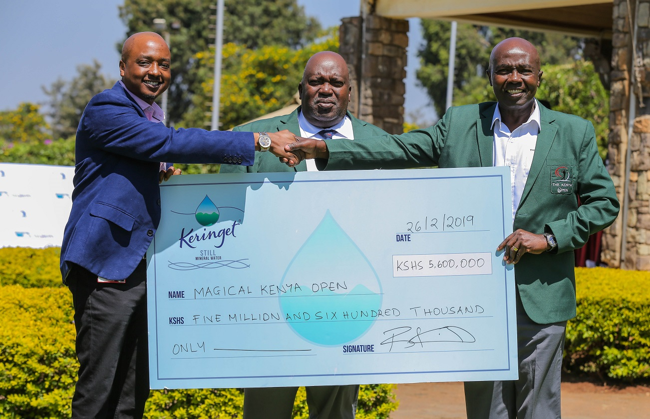Kenya Open Golf Tournament Gets Kshs 5.6 Million Boost