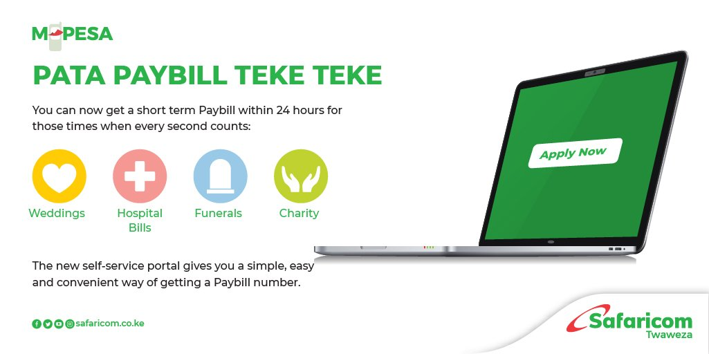 How To Apply For A Short Term Paybill Number