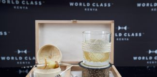 Gin With A Twist At The World Class Bartender Of The Year Competition
