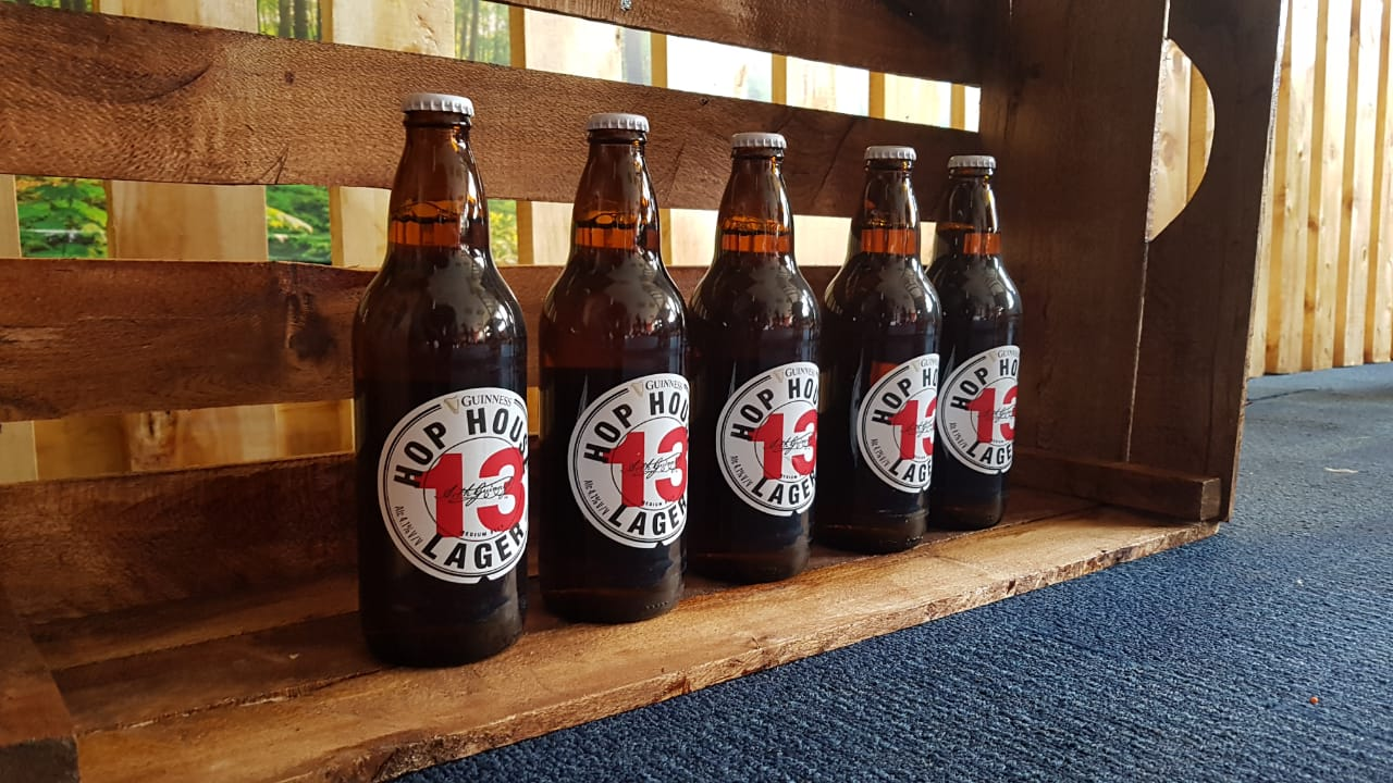 Hop House 13; A Flavorful & Refreshing Premium Lager Made By The Brewers Of Guinness