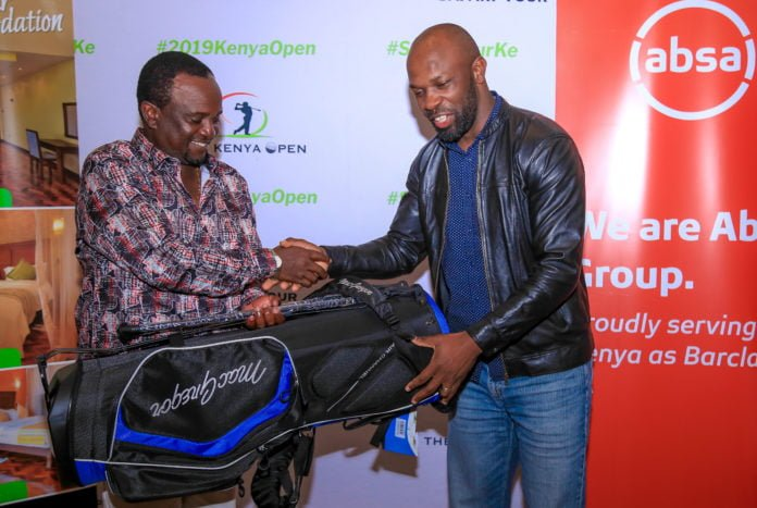 Former Rugby Star Lavin Asego Wins Thika Greens Safari Tour Pro-Am